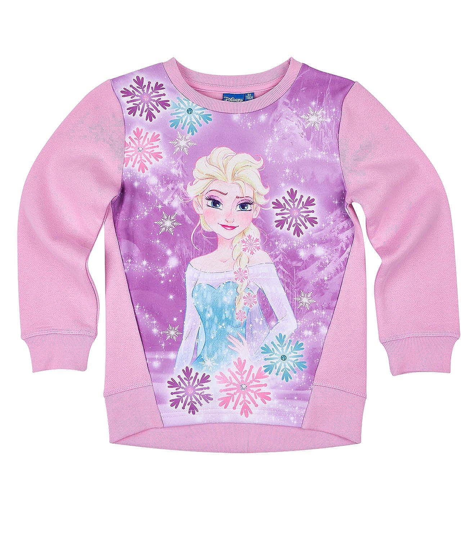 Disney Frozen - Il regno di ghiaccio Ragazze Felpa - rosa