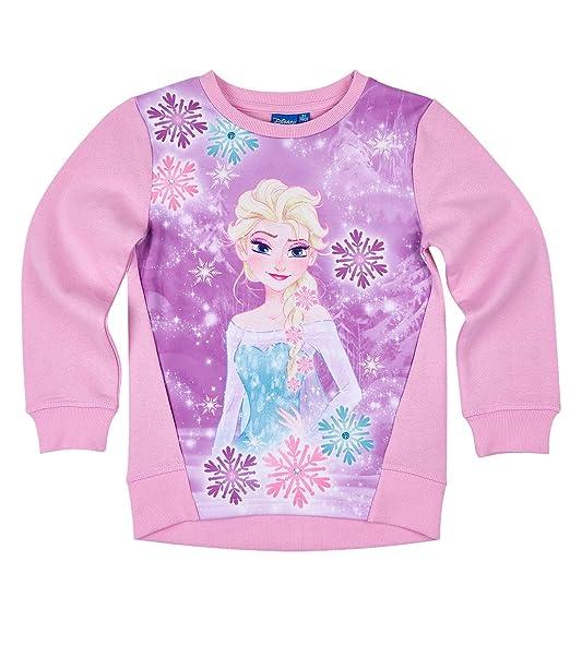 Disney El reino del hielo Chicas Sudadera - Rosa - 140