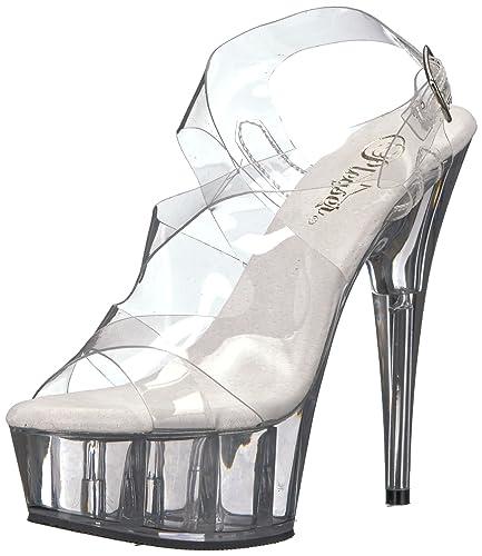 Pleaser High Heels/Sandalette FLAIR 409 40 EU