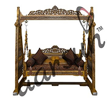 Aarsun Wooden Swings / swings for indoor and outdoor/ Jhoola for Home & Garden Floor-Standing/ wooden jhula SWINGS-002