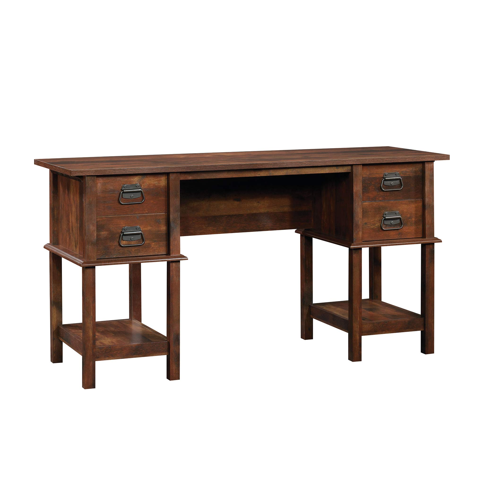 Sauder Viabella Home Office Furniture Transitional Curado Cherry