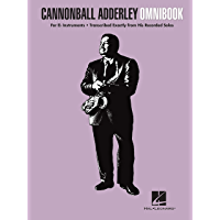 Cannonball Adderley - Omnibook for E-flat Instruments book cover