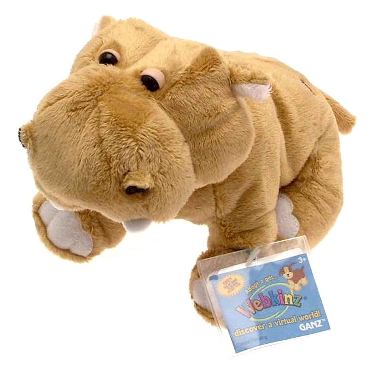 Amazon.com: Webkinz Mud Hippo BROWN: Toys & Games