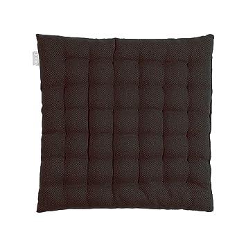 Stuhlkissen Sitzkissen Dekokissen Sitzauflage Stuhlauflage Baumwolle Weiß 40x40