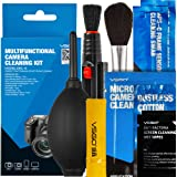 VSGO DKL-6 DSLR Digital Camera Cleaning Kit, All-Inclusive Sensor and Lenses Cleaning Travel Package