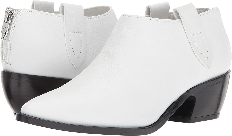 Sigerson Morrison Women's Dorie Ankle Boot B07573QQ2J 7 B(M) US White Leather