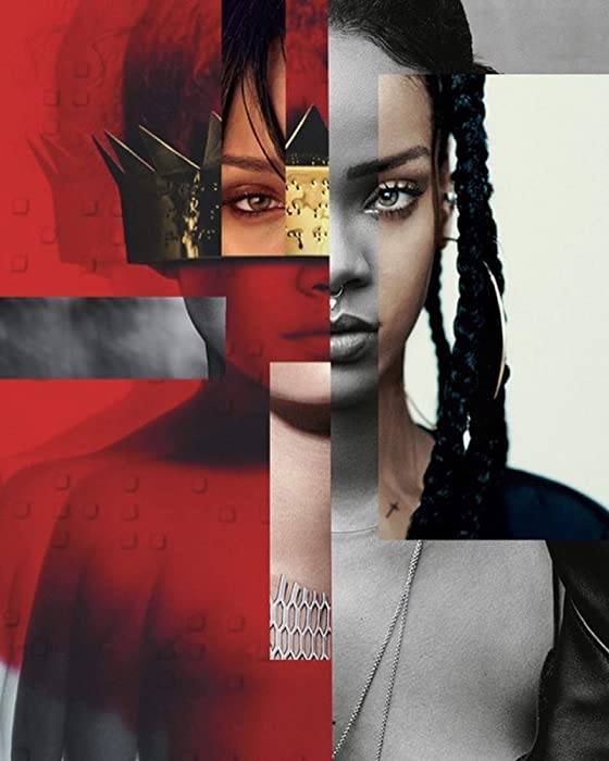 Rihanna Anti Poster Print Decor Art Gift