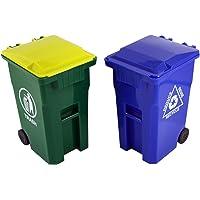 Thornton's Office Supplies Mini Curbside Trash & Desk Pencil Cup Holder