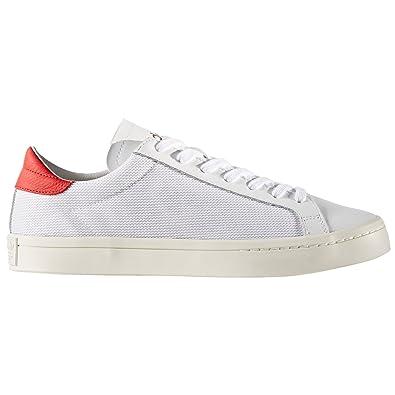 adidas original Court Vantage Blanc et Marine. Chaussures homme. Tennis  classique. Sneakers (