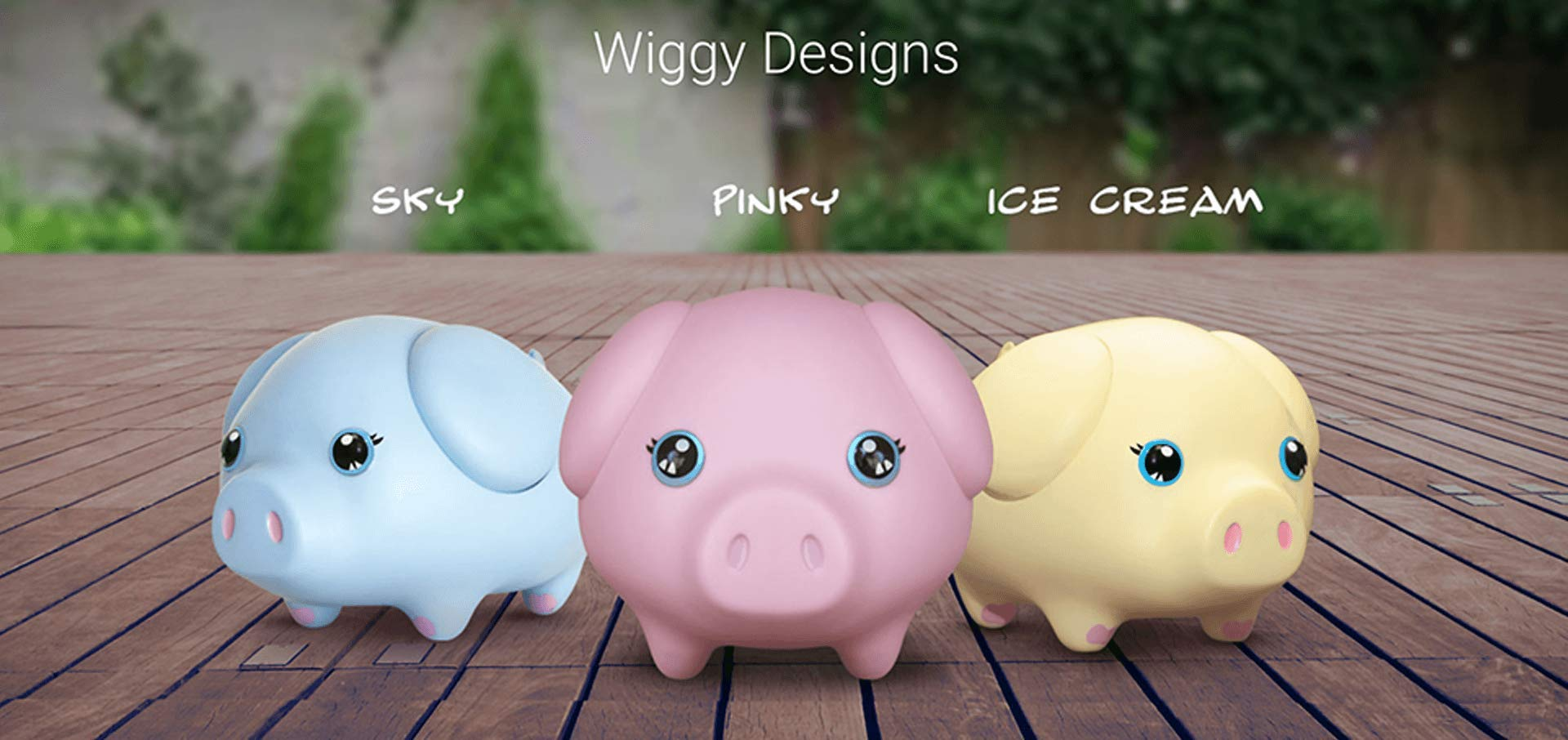 Wiggy Piggy Bank (Pink): Smart Speaking Piggy Bank and Task Tracker by Wiggy