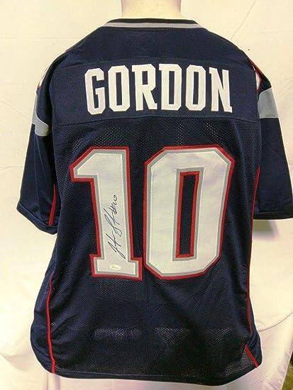 Autographed Josh Gordon Jersey - Custom Blue - JSA Certified - Autographed  NFL Jerseys 158eaa6e1