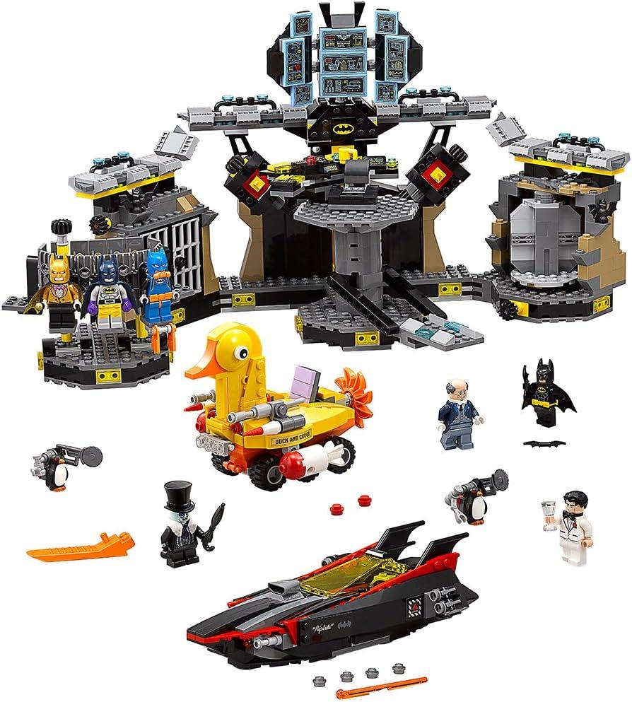 Amazon Com The Lego Batman Movie Batcave Break In 70909 Superhero Toy Toys Games