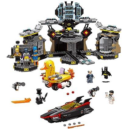 Amazon.com: THE LEGO BATMAN MOVIE Batcave Break-in 70909 Superhero ...