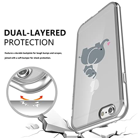 Cover iPhone 6S Caler Custodia iPhone 6 Caso Silicone TPU Ultra
