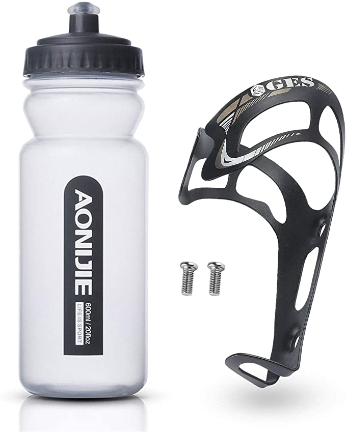 Goaup Bicycle Cage Holder 2 Pack Aluminium Alloy Water Bottle Cages for Outdoor Activities