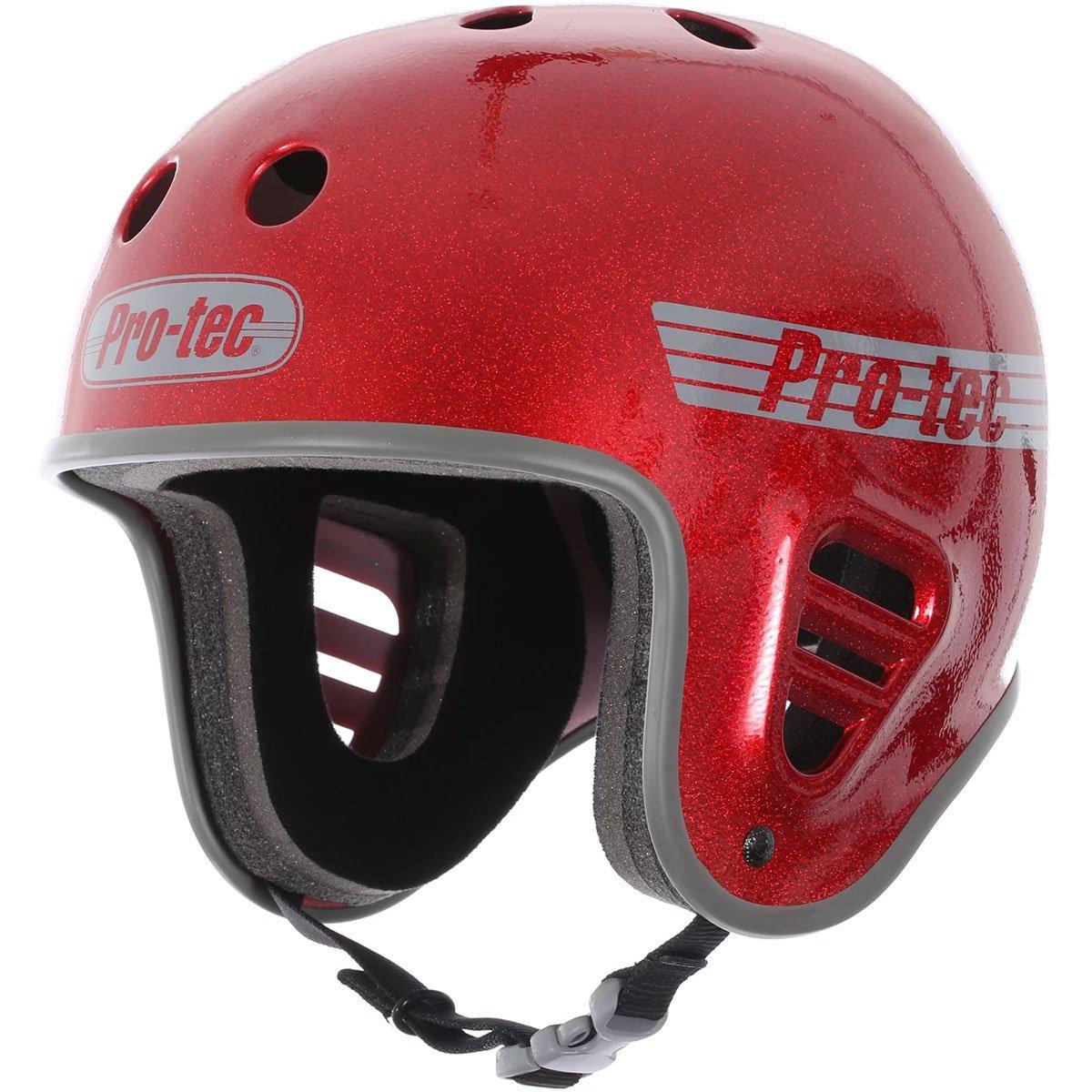 Pro Tec Full Cut Skate Helmet - Red Metal Flake - MD