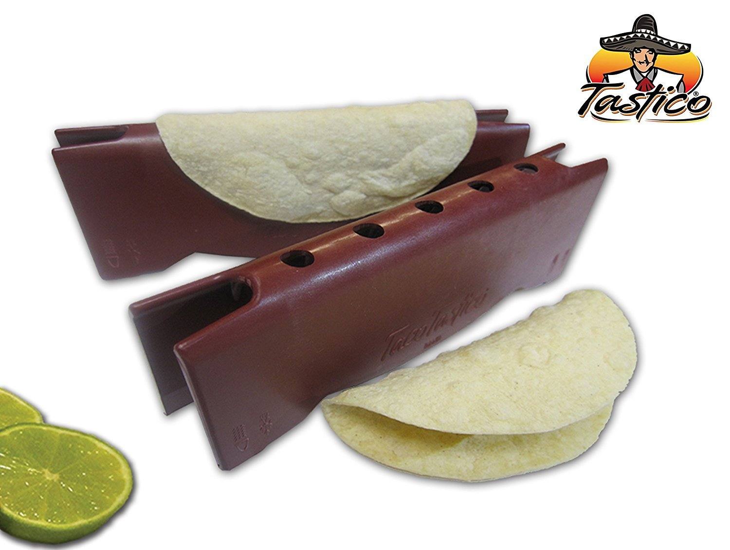 Taco Tastico (3) Pack - Quick and Easy Microwave Taco Shell Maker