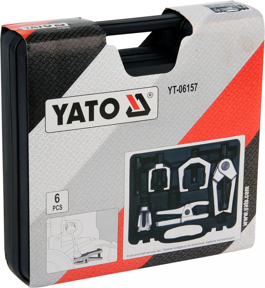 YATO YT-06157 servicio esf/érica del extremo frontal Set de 6