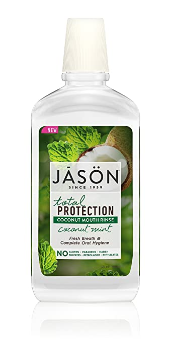 Jason Total Protection Coconut Mouth Rinse Coconut Mint 16 oz