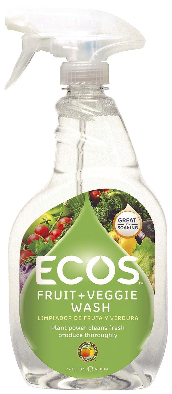 Earth Friendly - フルーツ及び野菜の洗浄 - 22ポンド B0069GNOIE  22 oz.