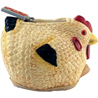 Rubber Chicken Coin Purse: Multicolor Tan