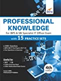 Professional Knowledge for IBPS & SBI Specialist IT Officer Exam with 15 Practice Sets