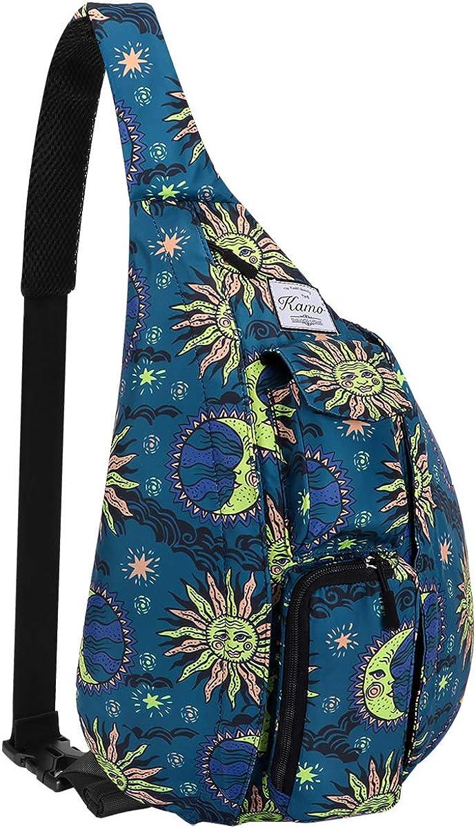 KAMO Sling Backpack – Rope Bag Crossbody Backpack Travel Multipurpose Daypacks for Men Women Lady Girl Teens