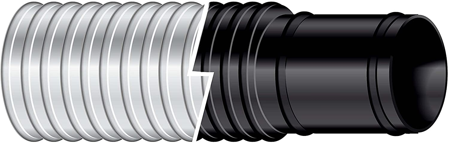 "Sierra International 116-120-1182B 1-1/8"" X 9' Bilgeflex Black Marine Hose"
