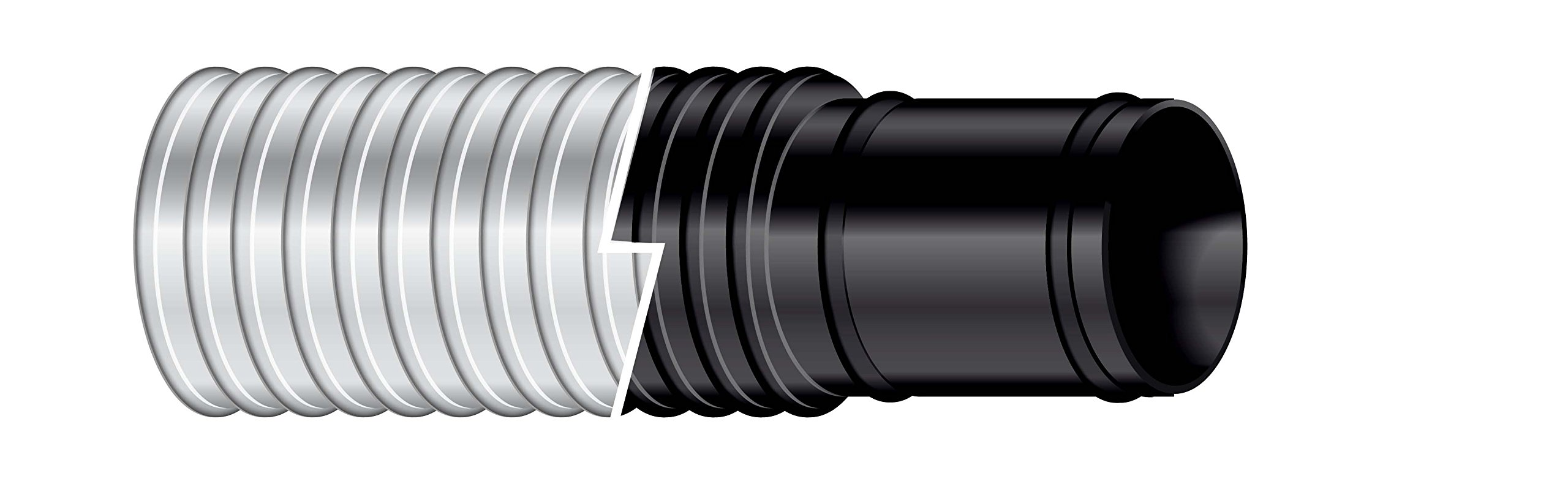Sierra International Black 3/4 Inch x 6 Foot Sierra 116-120-0341B Shields Bilgeflex Hose-3/4 X 6' by Sierra International