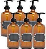 Luciérnaga manualidades bomba de vidrio botella con Chalkboard Labels, 226,8 G cada