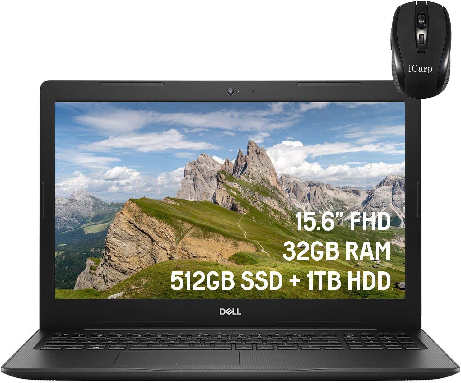 2020 Latest Dell Vostro 15 3590 Business Laptop, 15.6