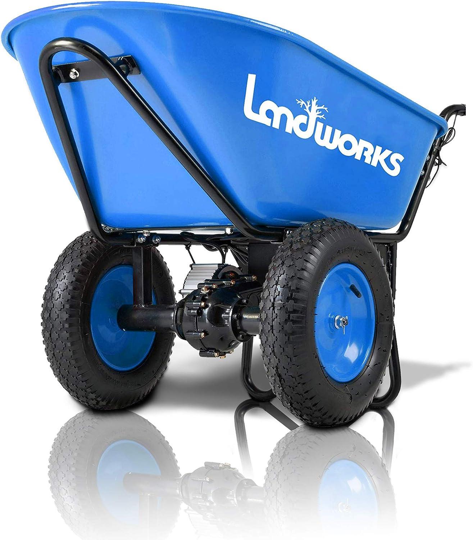 Landworks Motorized Wheelbarrow