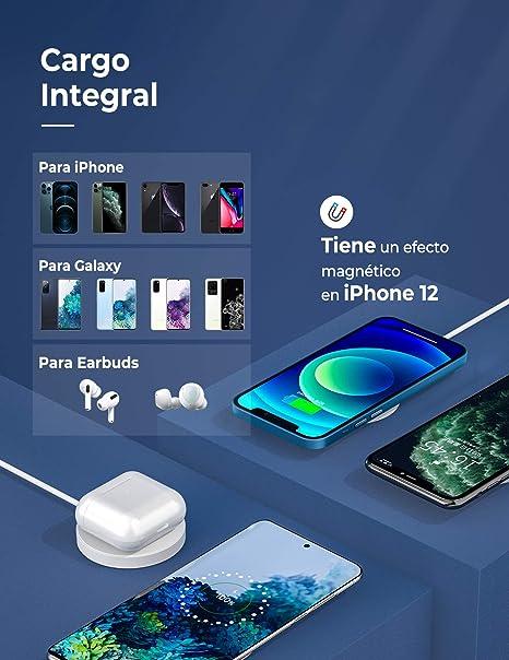 Cargador Inal/ámbrico R/ápido Compatible con Cargador mag-Safe Compatible con iPhone 12//12 mini//12 Pro//12 Pro MAX//AirPods Pro(Cable de Puerto USB de 3.3 Pies) Seneo Cargador Inal/ámbrico Magn/ético