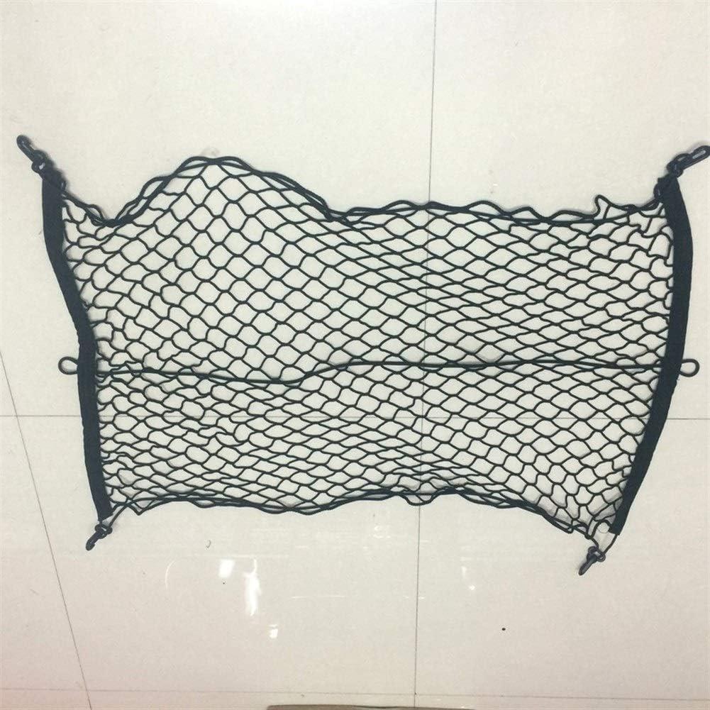 Red de carga de poli/éster 90 x 60 cm ajustable para maletero de coche