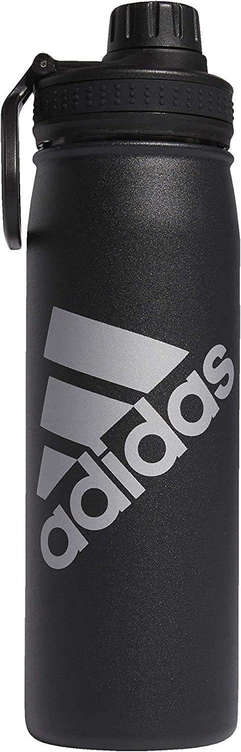adidas Unisex 18/8 Stainless Steel Hot/Cold Insulated Metal Bottle