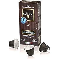 Caffè Carracci, Capsule Compatibili Nespresso, Decaffeinato - 100 Capsule