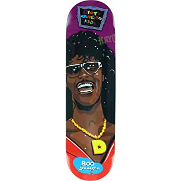 DGK Skateboards Boo Johnson Rerun Skateboard Deck