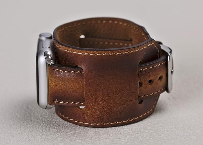 86eafaeb4 Amazon.com: Cuff Apple watch Band 38mm Women, Gift,38mm, 40mm 42mm ...