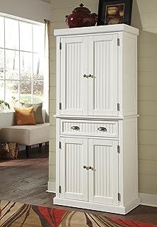 home styles 5022 69 nantucket pantry distressed white finish amazon com  home styles 5094 94 americana kitchen island antique      rh   amazon com