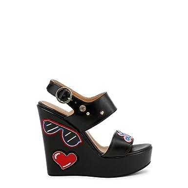 1ba9b7160f0 Love Moschino Women Shoes Wedges Women  Amazon.co.uk  Clothing