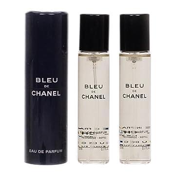 339763b5e28 Chanel Bleu de Chanel Eau de Parfum 3 x 20 ml  Amazon.co.uk  Beauty