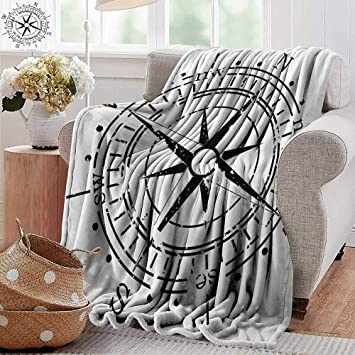 Miraculous Amazon Com Pearlrolan Custom Sofa Bed Throw Blanket Compass Gmtry Best Dining Table And Chair Ideas Images Gmtryco