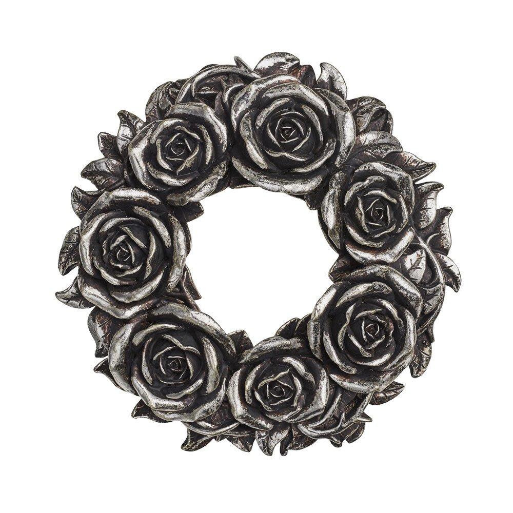 Alchemy Gothic Corona de Rosas Negras (Plateado) Spiral Direct 1588-V65