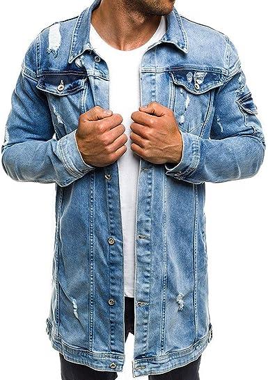 Yvelands Camisas para Hombre, Camisa de Manga Larga con ...