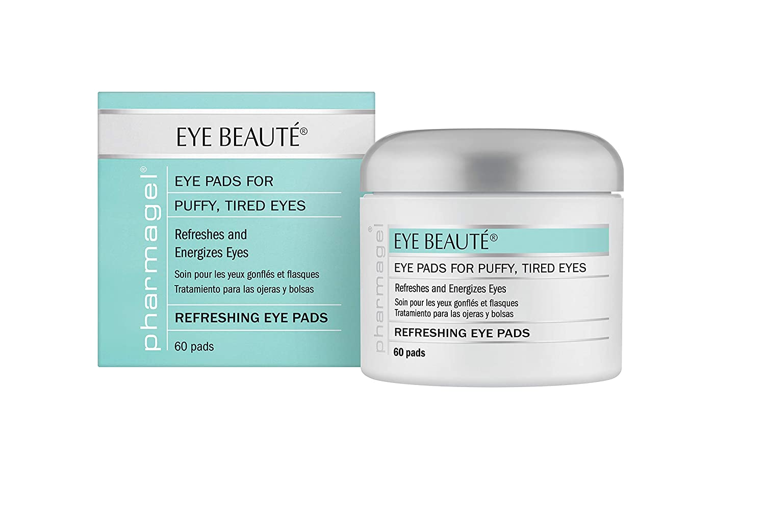 Pharmagel Complexe Eye Beaute Treatment Pads | Herbal Solution | Under Eye Bags and Puffy Eyes Treatment | Pads for Tired, Swollen, and Sagging Eyes - ...