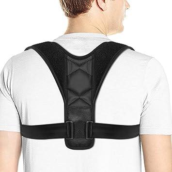 Corrector de postura ajustable para espalda, hombro.: Amazon.es: Salud y cuidado personal