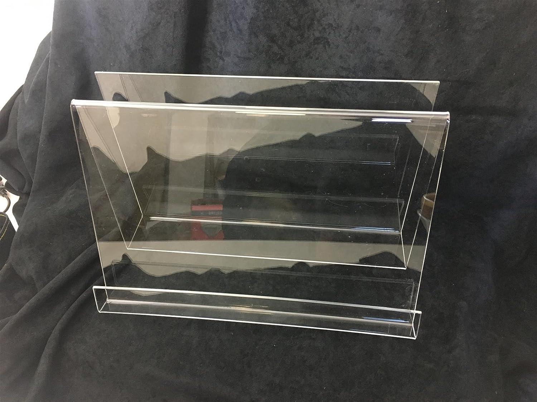 S.Mile GmbH - Portariviste in Vetro Acrilico, 15 x 20 x 31 cm, Trasparente