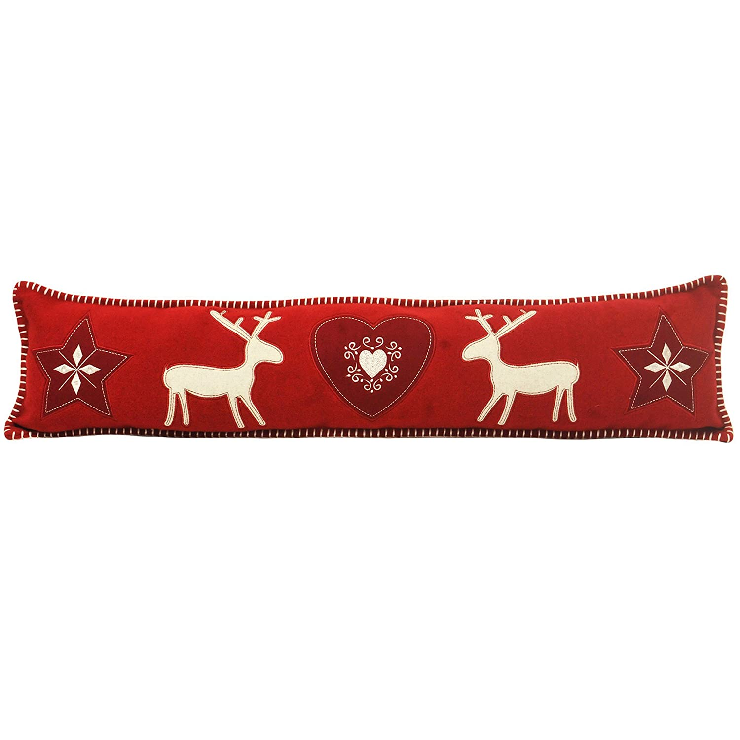 Riva Home Nordica Draught Excluder (One Size) (Red) UTRV1076_2