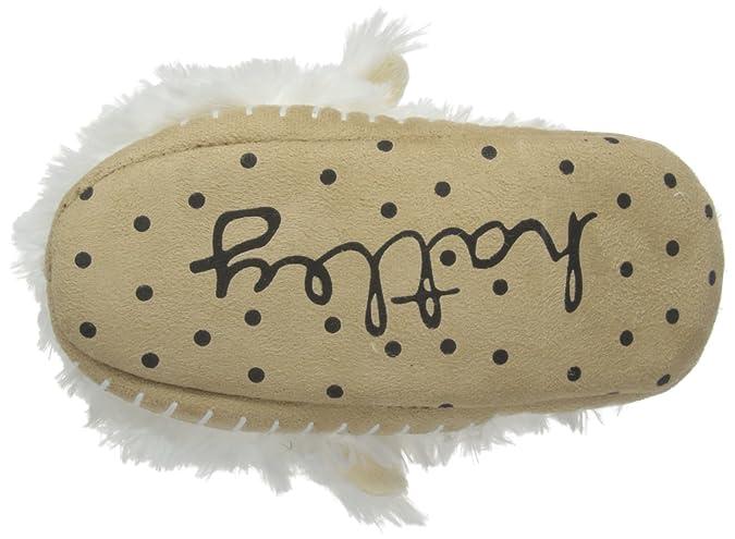 Hatley Slouch-Lamb, Mocasines para Niñas, Blanco (White), Extra-Large: Amazon.es: Zapatos y complementos