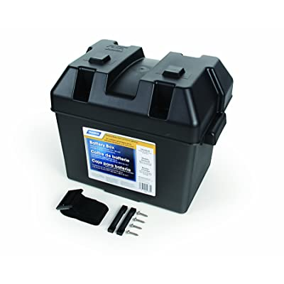 Camco 55363 Standard Battery Box - Group 24: Automotive